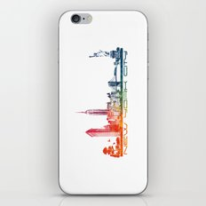 New York City skyline iPhone & iPod Skin