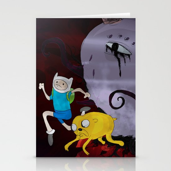 Adventure Time! Stationery Card