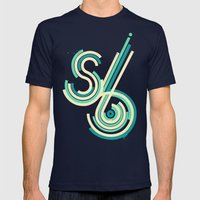 Six Second Daydream Mens Fitted Tee Navy SMALL