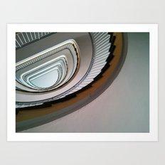 Muenster Staircase Art Print