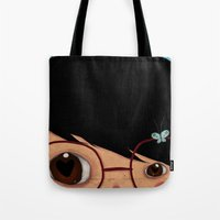 Blinking Tote Bag