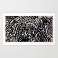 Mind Frame (Still Frame 2) Art Print