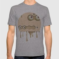 Mmmmm Mens Fitted Tee Athletic Grey SMALL