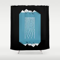 NZ Ski Fields Shower Curtain