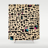 - micro 2 - Shower Curtain