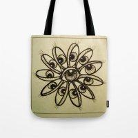 Eye Flower Tote Bag
