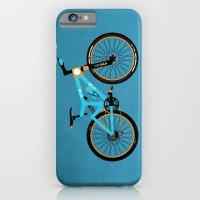 iPhone & iPod Case featuring Mountain Bike by Wyatt Design