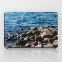 Rocks On The Water iPad Case