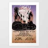 The Moondoggies Concert … Art Print