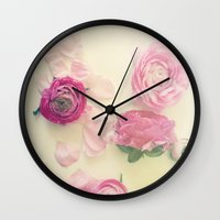She Scattered Love Every… Wall Clock