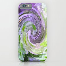 Abstract Waves watercolor abstract iPhone 6 Slim Case