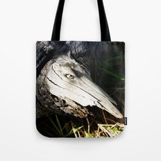 Monster in a Tree Tote Bag