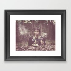 (our) Nature Destroyed (our) Home Framed Art Print