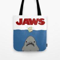 JAWS Movie Poster Tote Bag