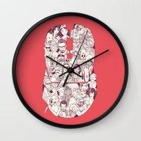 Adulthood Mash-Up Wall Clock
