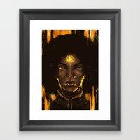 Look into the Sun 2.0 Framed Art Print