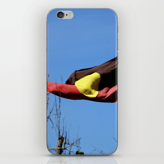 Aborignal Flag - It's Meaning! iPhone & iPod Skin