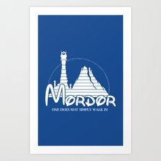 The Happiest Place in Middle Earth Art Print