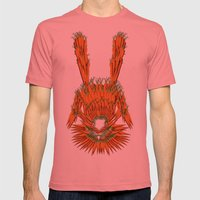 Year of The Rabbit Mens Fitted Tee Pomegranate SMALL