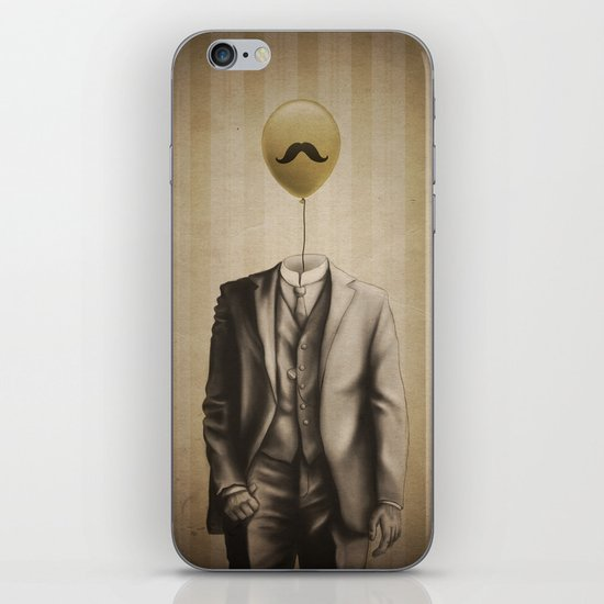 Mr. Whiskers iPhone & iPod Skin