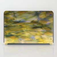 Abstract Green iPad Case