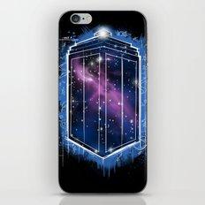 Time, Space, and Graffiti  iPhone & iPod Skin