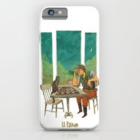 iPhone & iPod Case featuring Lt. Falcon by Tim Probert