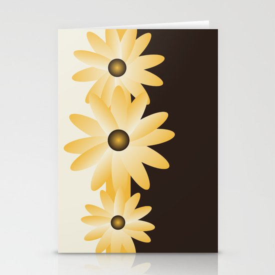 Y Flowers Stationery Card