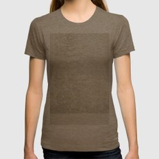 Snow Storm Womens Fitted Tee Tri-Coffee SMALL