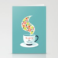 Enjoy the Tea Stationery Cards