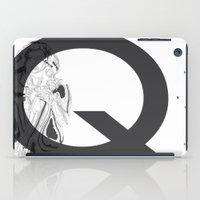 Queen of Clubs iPad Case