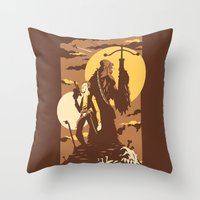 The Scoundrel & The Wook… Throw Pillow