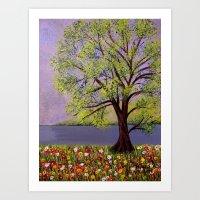 Summer Landscape-2 Art Print