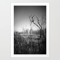 standing alone. Art Print