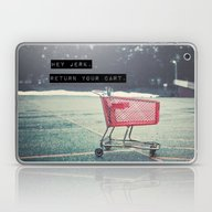 Laptop & iPad Skin featuring Grocery Cart Rage  by Laura Ruth