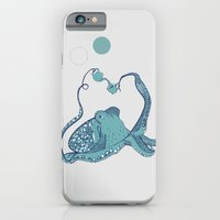 octopus iPhone & iPod Cases featuring Octopus ! by Clare Corfield Carr