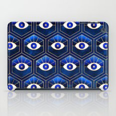 Eyes / Blue iPad Case