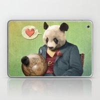 Wise Panda: Love Makes T… Laptop & iPad Skin