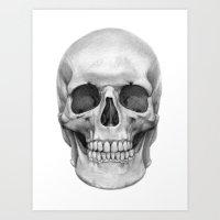 Skull G127 Art Print