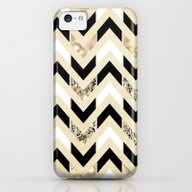 Black, White & Gold Glit… iPhone 5c Slim Case
