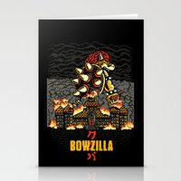 BOWZILLA Stationery Cards