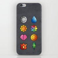 The Kanto Region Pokemon… iPhone & iPod Skin