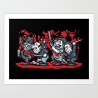 Where The Slashers Are (… Art Print