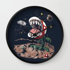 The Plumber Strikes Back Wall Clock