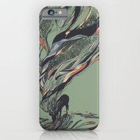 deer iPhone & iPod Cases featuring Dream Again by Huebucket
