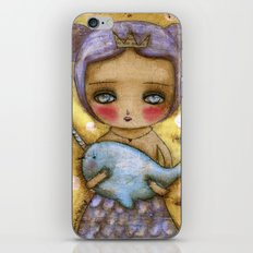 Narwhal Love iPhone & iPod Skin