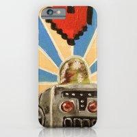 iPhone & iPod Case featuring 8 Bit Love Machine by Kristin Frenzel