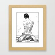 Framed Art Print featuring Apollonia Saintclair 597… by From Apollonia With …
