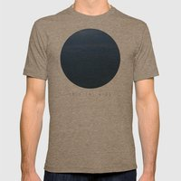 Into The Blue  Mens Fitted Tee Tri-Coffee SMALL