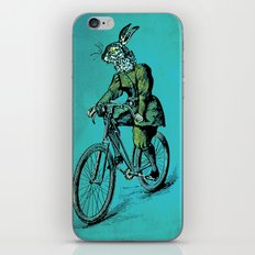 The Bicycle Bunny iPhone & iPod Skin